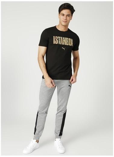 Puma Puma 58563002 BPPO-0024 Siyah Erkek T-Shirt Siyah